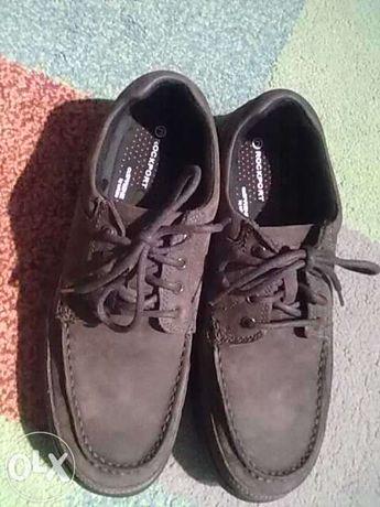 Sapatos homem da rockport cor castanha nº 43