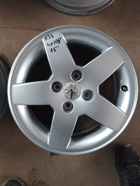 137 Felgi Aluminiowe Peugeot CITROEN 4x108 R15 ŁADNE