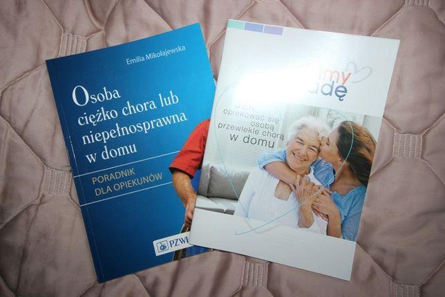 Książka poradnik dla opiekunów osób niepełnosprawnych w domu