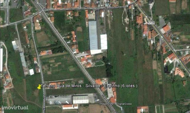 Terreno 907m2 para Moradia de 4 frentes