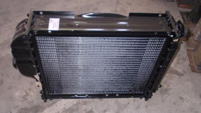 Радиатор водяного охлаждения (сердцевина) МТЗ-80,82,ЮМЗ латунь,алюминь