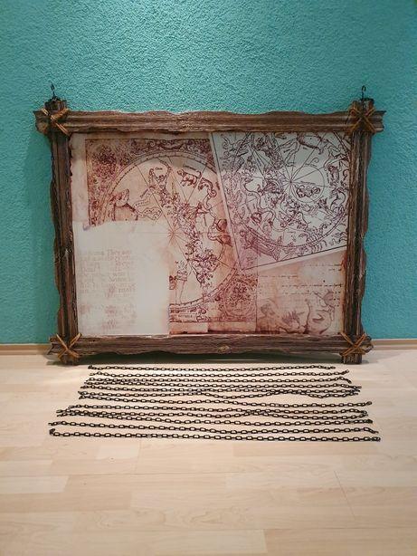 """Картины декоративные """"винтаж"""" в рамке (1000×1200 мм), (1000×1300 мм)"""