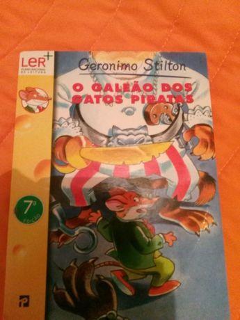 Livro do Gerônimo Stilton