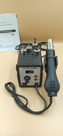 Апарат для пайки виробів з пластику з електронним дисплеєм + 4 насадки