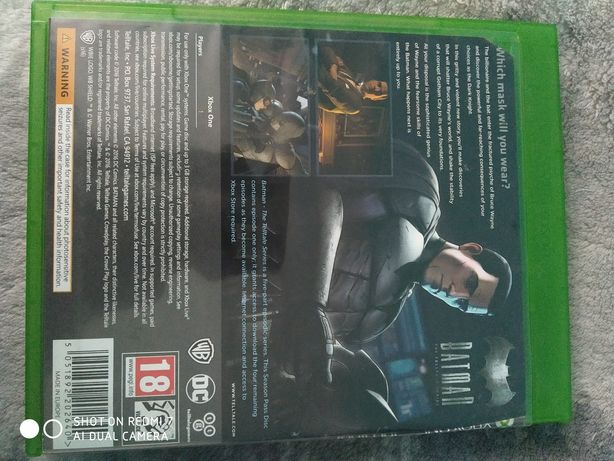 Batman gra na Xbox one