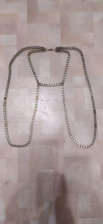 Портупея, украшение на шею и руки, бижутерия цепочка