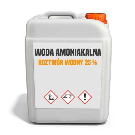Woda amoniakalna 25% (wodorotlenek amonu)– 22–900 kg – Kurier