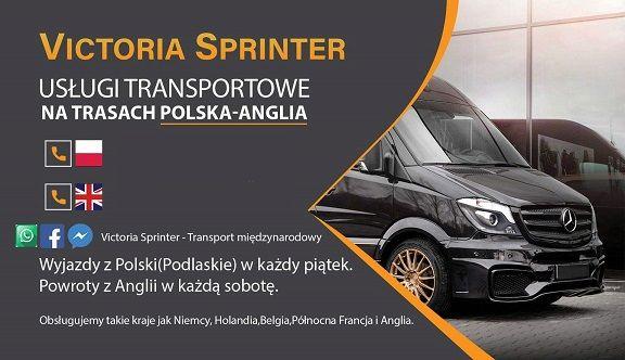 Transport -Polska,Niemcy,Luksemburg,Holandia,Belgia,-Francja,Anglia