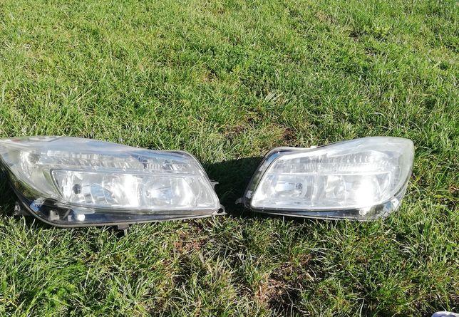 Opel insignia lampy przód anglik