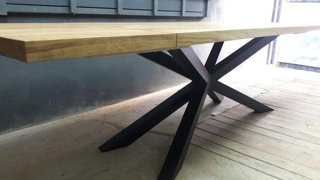 Stół Loft Dębowy 2800x1000x50  Stolarz