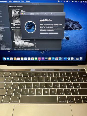Macbook pro 13, 2017, touchbar, 3 Thund. i5, 256Gb 113 циклов!