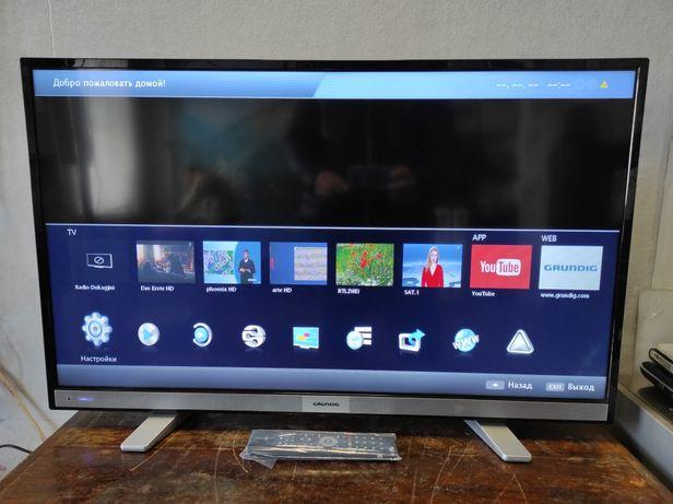 "40"" SMART Телевизор Grundig 40 CLE 6525 BL 102 см. 200Гц. Germany."