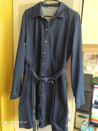 orsay szmizjerka jeansowa 42 sukienka nowa