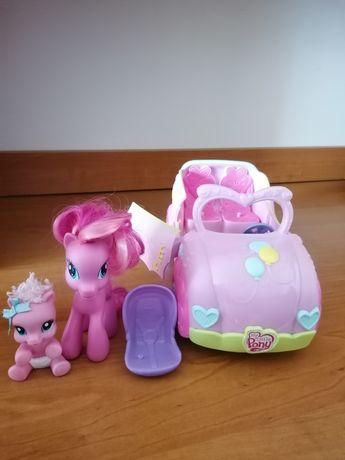My Little Pony samochód kabriolet.
