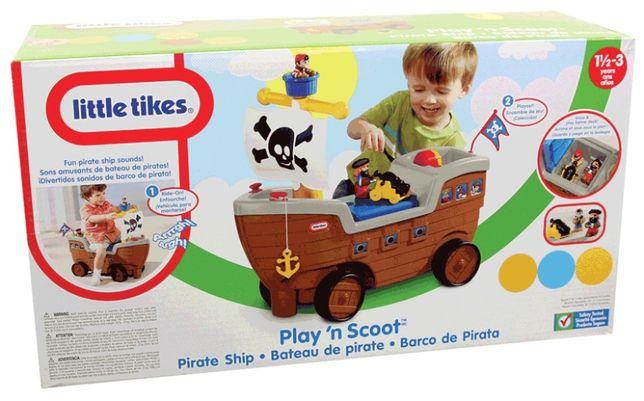 Little Tikes, jeździk Statek Piracki