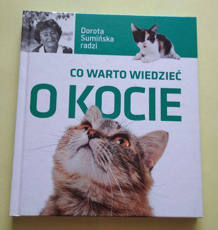 "Dorota Sumińska ""Co warto wiedzieć o kocie"", poradnik"
