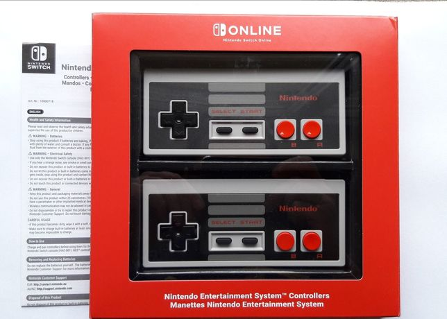 Switch NES Controllers kontrolery Online Nintendo pad pady controller
