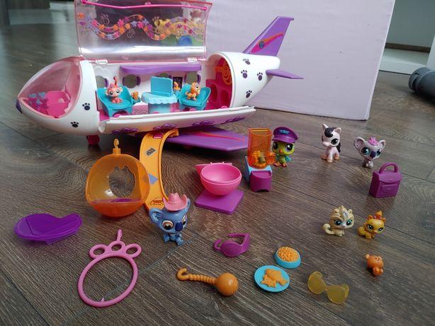 Samolot little pet shop