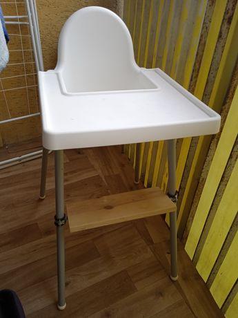 Krzesełko Antilop Ikea z Podnóżkiem