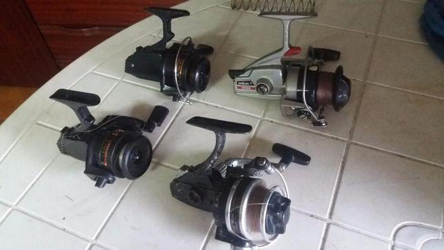 Canas de pesca e carretos