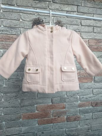 Пальто кашемировое Kiabi 86см 2