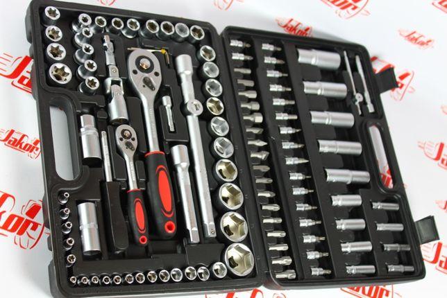 Польский набор инструментов LEX 108шт головки, ключи, хром-ванадий
