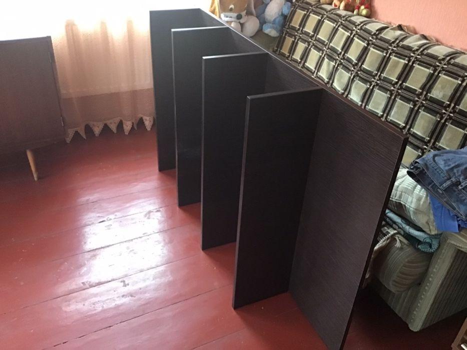 Продам б/у настенный стелаж/полки, цвет-венге-900 грн Ирпень - изображение 1
