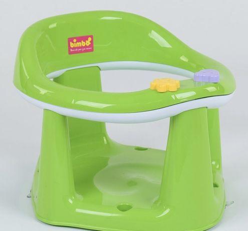 """Детское сиденье для купания на присосках BM-03606 """"BIMBO"""", салатовое"""