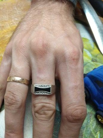 Печатка мужская серебро