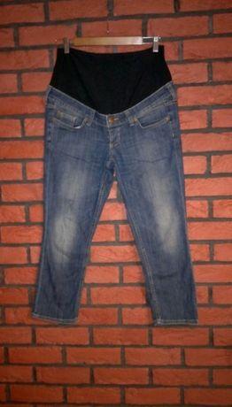 Spodnie ciążowe jeansy 3/4 do łydek H&M mama rozmiar 40