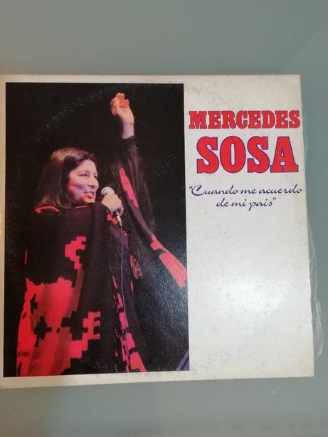 2 discos Vinil MercedeS Sosa -Musica Venezuelana - América do Sul -
