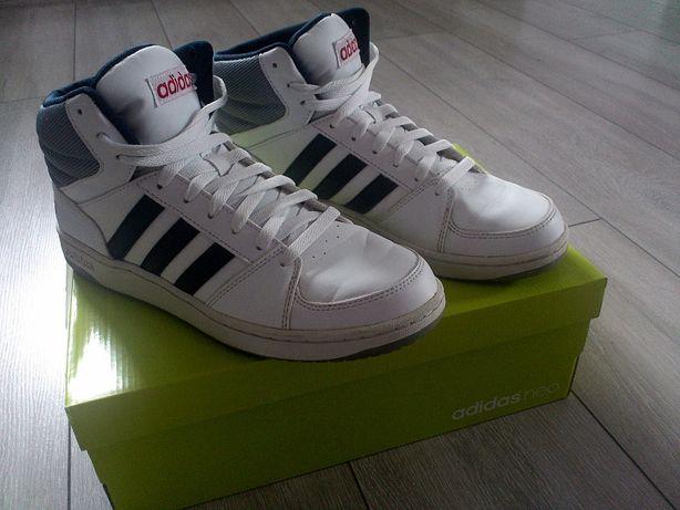 Buty Męskie Adidas Neo Białe 42,5