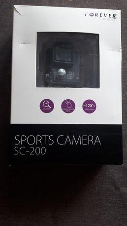 Kamera sportowa Full HD z akcesoriami