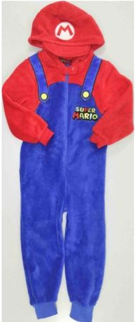 kostium przebranie piżama Super Mario 5/6L_116 cm