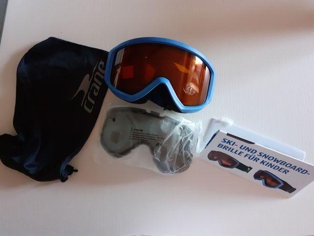 Gogle narciarskie i snowbordowe dla dzieci- nowe