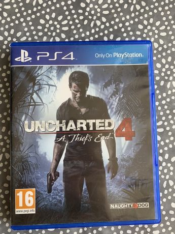 Gra na PS4 Uncharted 4 PL