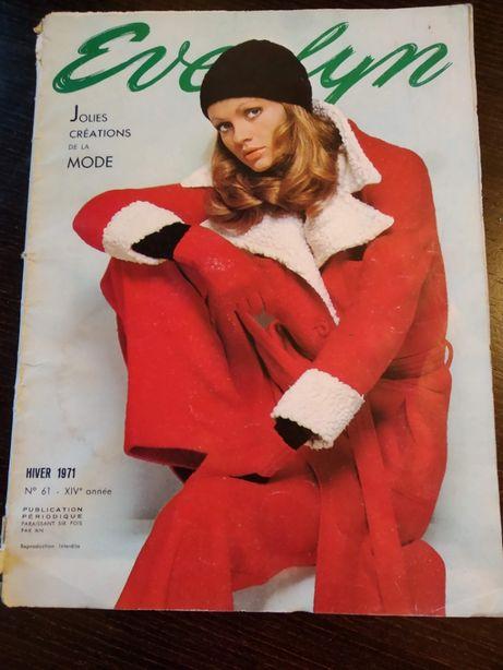 Revista de moda, vintage - 1971
