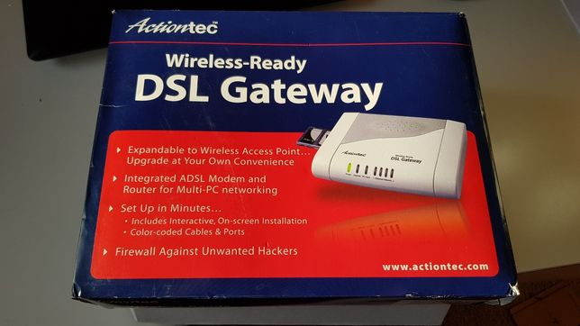 Router Actiontec DSL Gateway model GS204AD-01I Wireless-Ready
