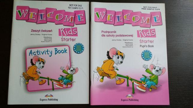 Welcome kids starter podręcznik i ćwiczenia Komplet nowe