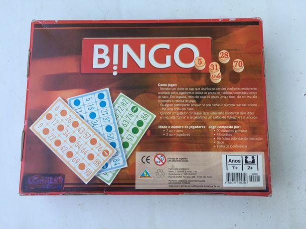 Vengo jogo de mesa Bingo