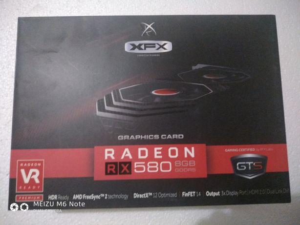 Видеокарта XFX RX 580 GTS Black Edition 8GB