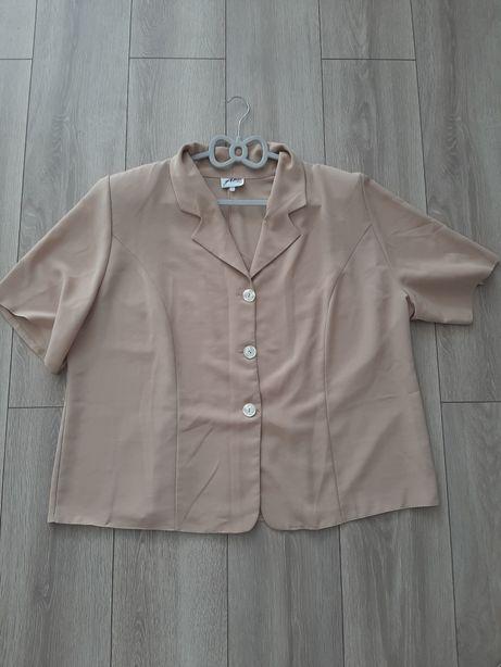 Beżowa bluzka r.54