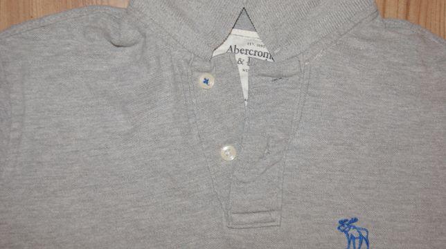 Abercrombie&Fitch-sliczna koszulka polo - M