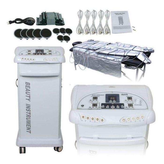 Pressoterapia com Infravermelhos e Eletroestimulação