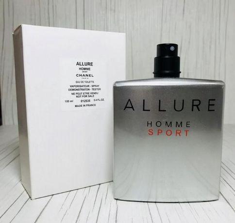 Chanel Allure Homme TESTER 100 мл Мужские Духи.Новые.Шанель Аллуре