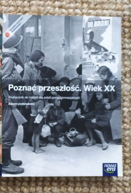 """Podręcznik historia nowa era """"Poznać przeszłość. Wiek XX"""" matura"""