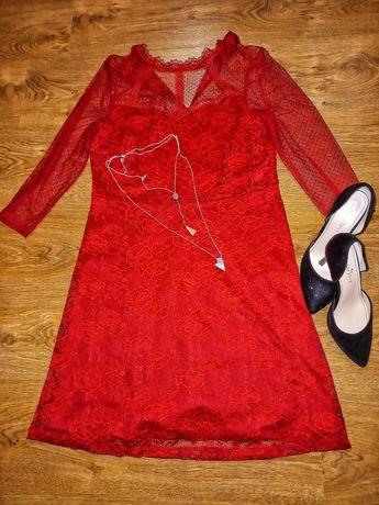 Сукня червона нова
