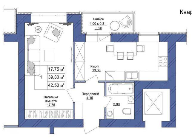 ЖК Европейский. Продам квартиру в новом доме, Индивидуальное отопление