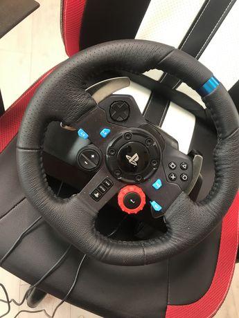 Продаю игровой руль Logitech g29