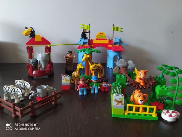 Lego duplo wielkie zoo